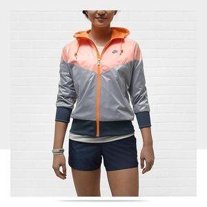 Nike Free Spin Windrunner Jacket 3/4 Sleeve